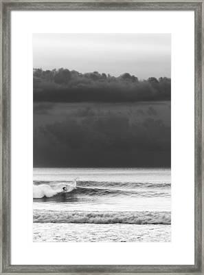 Cloud Surfer Framed Print