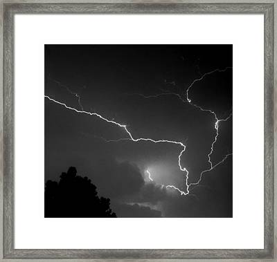 Cloud To Cloud Discharge IIi. Framed Print