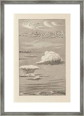 Cloud Types Framed Print by King's College London