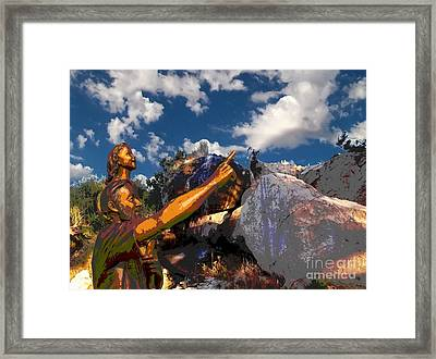 Cloud Watchers Framed Print by Glenn McCarthy Art and Photography