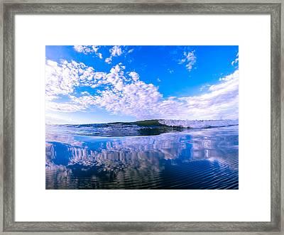 Cloud Wave Framed Print
