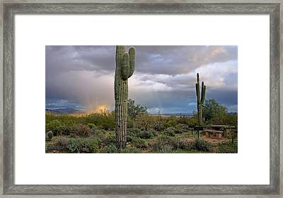 Cloudburst Framed Print