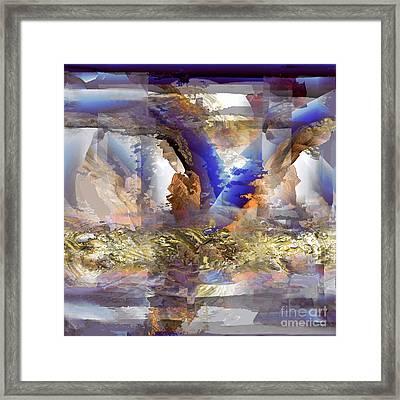 Cloudburst Framed Print by Ursula Freer