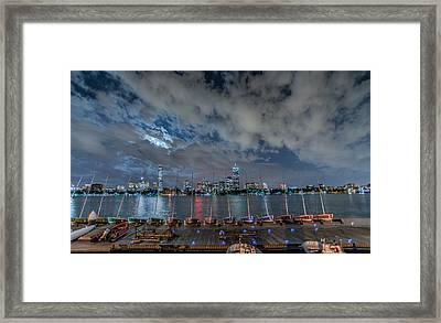 Clouded Framed Print