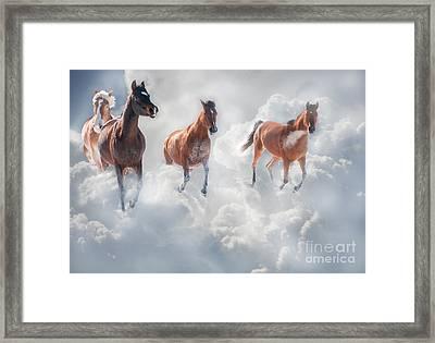 Cloudrunners Framed Print