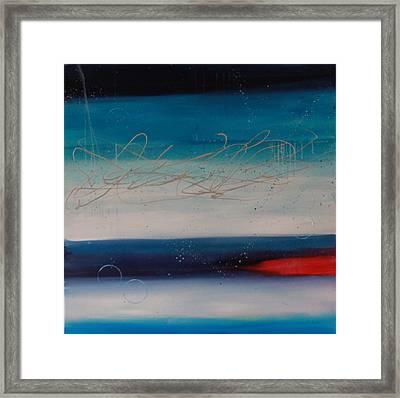 The Night Sky #1 Framed Print