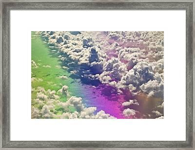 Clouds #1 Framed Print