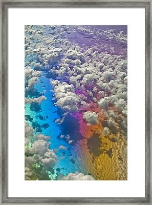 Clouds #2 Framed Print