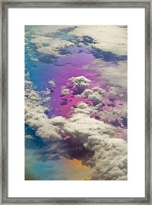 Clouds #3 Framed Print