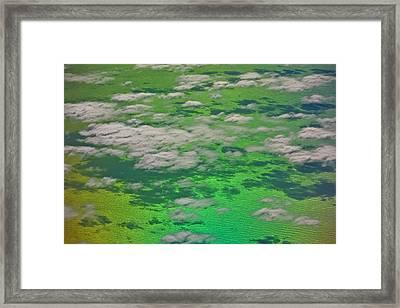 Clouds #4 Framed Print