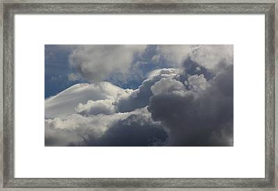 Clouds After The Storm Framed Print by Ron Romanosky