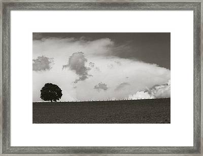 Framed Print featuring the photograph Clouds by Amarildo Correa