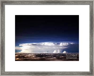 Clouds At Dusk Framed Print