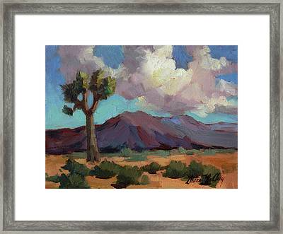 Clouds At Joshua Framed Print