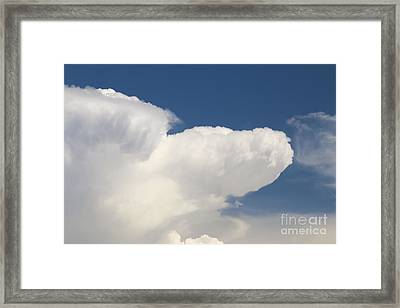 Clouds Before Storm Framed Print