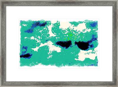 Clouds Framed Print by Charles Ranson