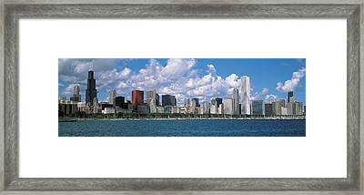 Clouds, Chicago, Illinois, Usa Framed Print by Panoramic Images