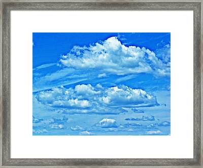 Clouds Framed Print by Dave Dresser