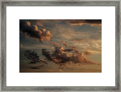 Clouds For Rembrandt Framed Print