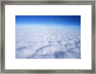 Clouds II Framed Print by Kristine Bogdanovich