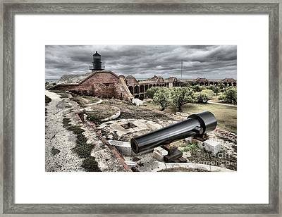 Clouds In The Keys Framed Print by Adam Jewell