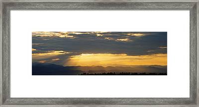 Clouds In The Sky, Daniels Park Framed Print