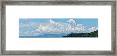 Clouds In The Sky, Papua New Guinea Framed Print by Panoramic Images
