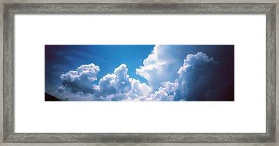 Clouds Japan Framed Print