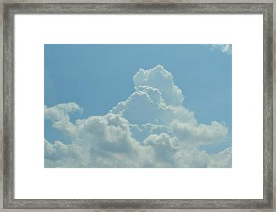 Clouds Framed Print by Kiros Berhane