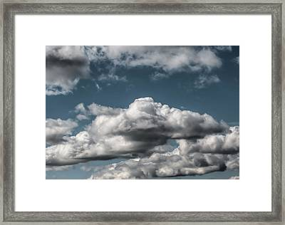 Framed Print featuring the photograph Clouds by Leif Sohlman