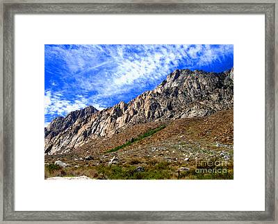 Framed Print featuring the photograph Clouds by Marilyn Diaz