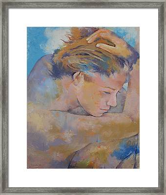 Clouds Framed Print by Michael Creese