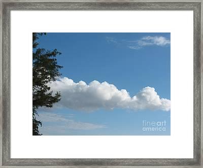 Clouds - Nuages - Ile De La Reunion - Reunion Island Framed Print by Francoise Leandre