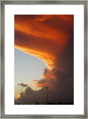 Clouds Of Hope Framed Print by Murray Symphorien