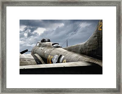 Clouds Of War Framed Print
