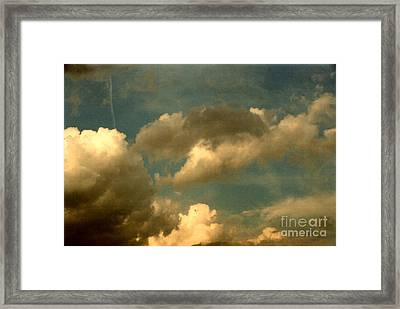 Clouds Of Yesterday Framed Print