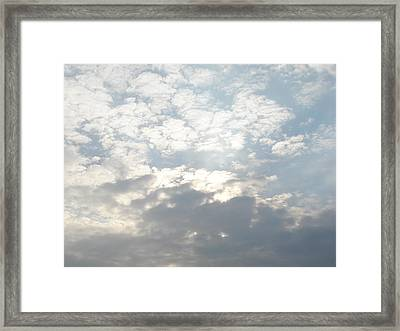 Clouds One Framed Print