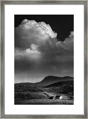 Clouds Over Clashnessie Framed Print by Dave Bowman