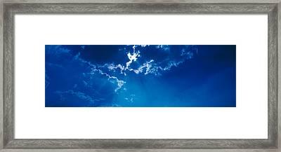 Clouds Over Dava Moor Nairn Scotland Framed Print