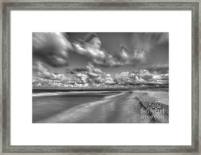 Clouds Over Elberta Framed Print by Twenty Two North Photography