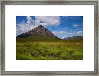 Clouds Over Etive Mor Framed Print by Niall McWilliam