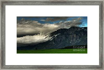 Clouds Over Goat Mountain Framed Print