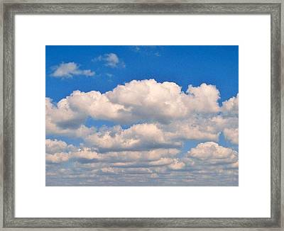 Clouds Over Lake Pontchartrain Framed Print