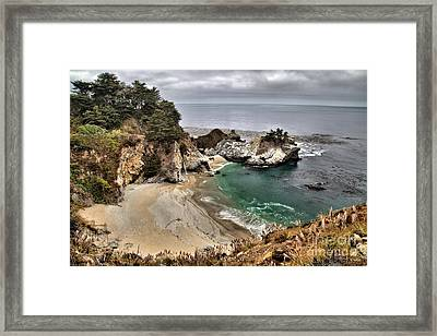 Clouds Over Mcway Framed Print