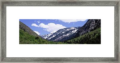 Clouds Over Mountains, Little Framed Print