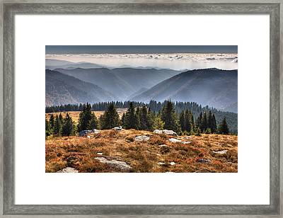 Clouds Over Romania Framed Print