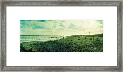 Clouds Over The Atlantic Ocean, Fort Framed Print by Panoramic Images
