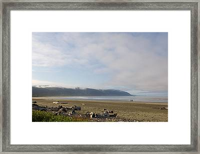 Clouds Over The Ocean, California, Usa Framed Print by Panoramic Images