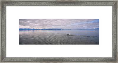 Clouds Over The Sea, Frederick Sound Framed Print