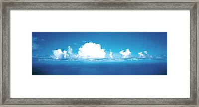 Clouds Over Water Framed Print
